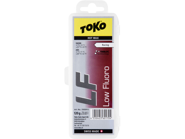 Toko LF Hot Wax 120g red